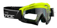 Force Grime Downhill Glasögon Klar Lins Svart/Neon