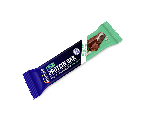 Maxim Protein Bar 40% Creamy Mint and Chocolate