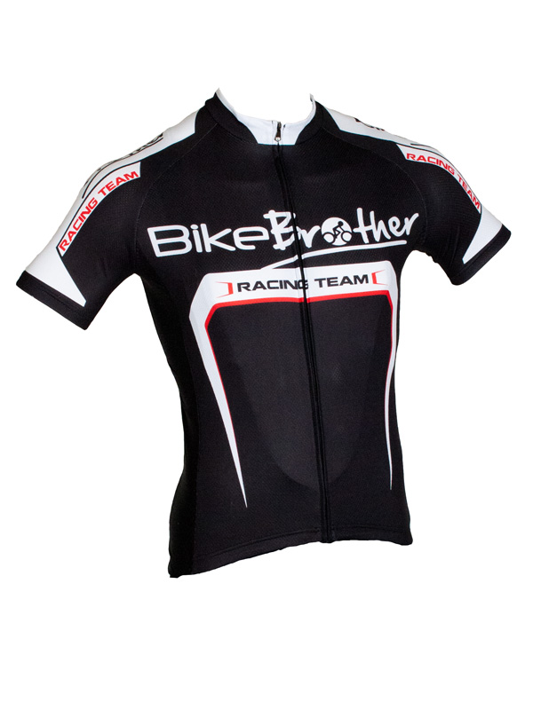 BikeBrother Racing Team svart/röd